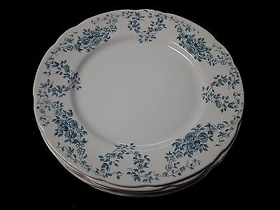 "Bishop & Stonier -  Ventnor Pattern Set of 6 10"" Dinner Plates"