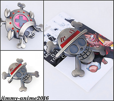 One Piece Monkey D. Luffy metal mini ring shield Cosplay prop Collection Toy