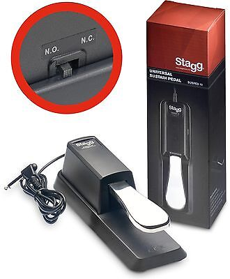 Stagg Keyboard Universal Sustain Pedal
