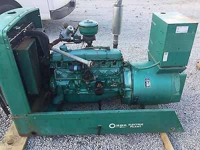 Onan 30Kw Generator Standby Genset Low Hours. Set Up For Lpg . Ford Power