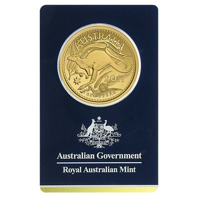 2017 $100 Gold Royal Australian Mint Kangaroo .9999 1 oz Veriscan