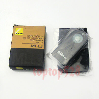 ML-L3 IR Remote Control For Nikon D7200 D7100 D5300 D5200 D3300 D800 D750 D6103