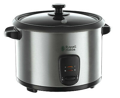 RUSSELL HOBBS 19750 1.8L RICE COOKER AND STEAMER - SILVER (n)
