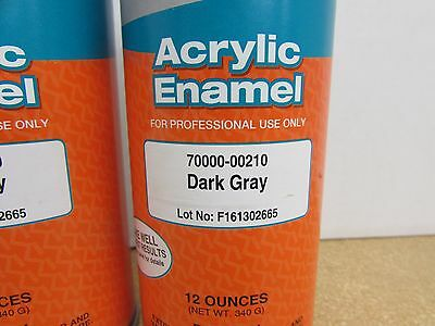 2 Cans - New Kubota Oem Gray Touch Up Spray Paint 70000-00210