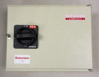 Bussman Compact Switch Disconnector 32Csitn 32A 415Vac 50/60Hz - New Old Stock