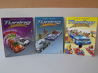Lot 3 BD Tuning Maniacs - Tomes 1/2/4 - EO - Humour - Vents d'Ouest
