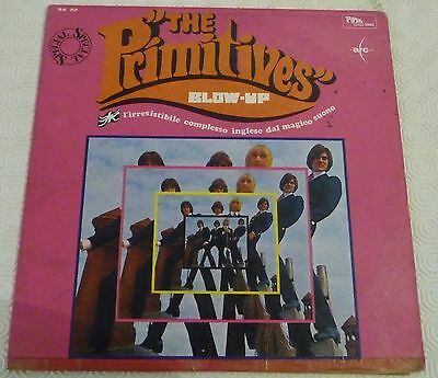 # Primitives BLOW-UP Top RARE Ita'66 ONLY COVER! NO RECORD LP-S00975