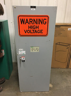 600 Amp Automatic Transfer Switch ATS ASCO A300360091C 480 Volt 300 Series