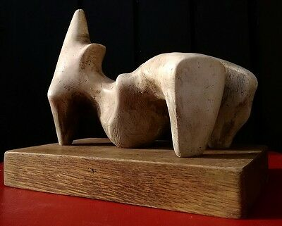 Maquette based on Henry Moore's Reclining Figure of 1969