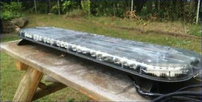"""Whelen ® Justice © Lightbar Amber 50"""" with Mounts ,Control with your switchbox"""