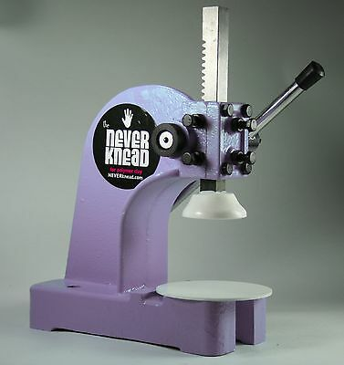 LILAC NEW POLYMER CLAY KNEADER MACHINE - EASY * FAST NEVERknead Sculpey Pavelka