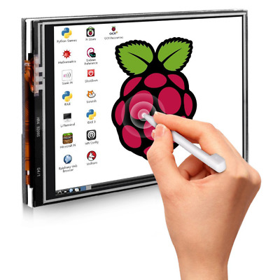 "Raspberry Pi 3.5"" Touch Screen Monitor LCD Display Module Kit for Pi 3 B+ Plus"