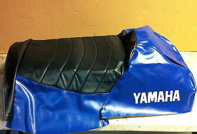 Yamaha Vmax SX SXR SRX seat cover NEW 97-02 OEM Viper Blue with Logo
