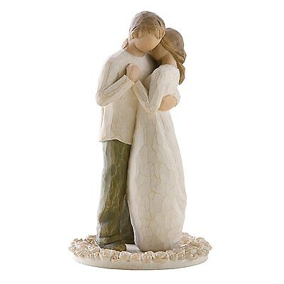 Willow Tree Promise Cake / Cupcake Topper for Weddings / Events / Made of Resin