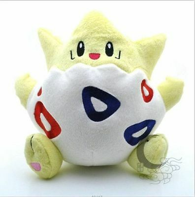 "8"" Pokemon Togepi Kids Toy Soft Plush Stuffed Doll Birthday Xmas Gift Soft Toys"