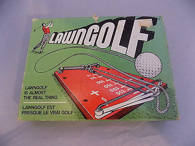 Vintage Lawn Golf Almost the Real Thing Drive Distance Direction