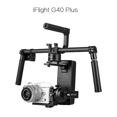 Upgraded iFlight G40 Plus 3-Axis Handheld Brushless Gimbal for Sony A7S,GH4,BMPP