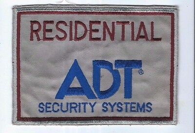 Collectible Old Patch ADT Residential Security Systems