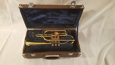 Nice used Holton Cornet with 7C mouthpiece and case!