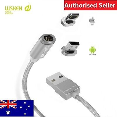 WSKEN Mini 2 Magnetic X-cable USB Cable For iPhone Samsung Android