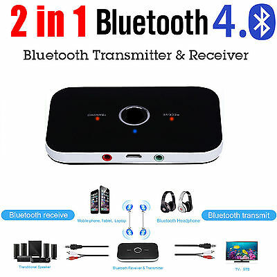 HIFI A2DP Wireless Bluetooth Transmitter & Receiver Stereo Audio Music Adapter