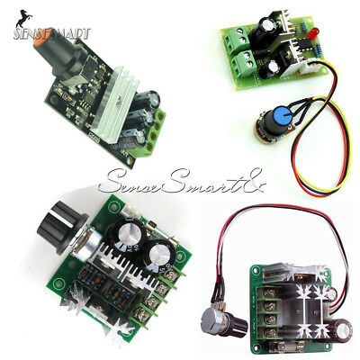 3/10/15A DC 6V-28V/6-90V/12V-36V/12V-40V PWM Motor Adjuster Speed Control Switch