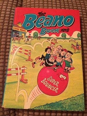 Beano Annual 1978 - Very Good Condition (lot JA23)