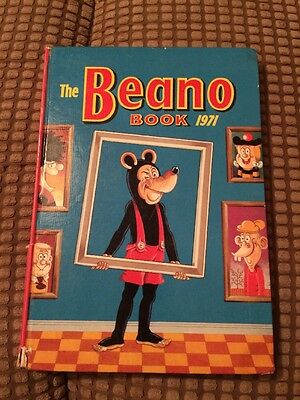 Beano Annual 1971 - Good Condition (lot JW23)