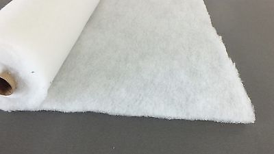 "4oz 54/"" WIDE POLYESTER WADDING 40MTR UPHOLSTERY QUILTING BEST QUALITY /& PRICE"