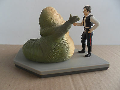 Star Wars : Han Solo / Jabba the Hutt .Figure - Applause 1997-  BE / TBE