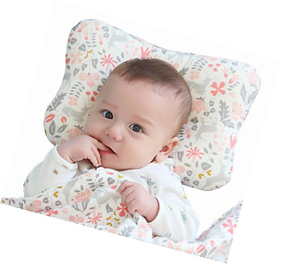 Baby Pillow For Newborn Breathable 3-Dimensional Air Mesh Organic Cotton, Protec