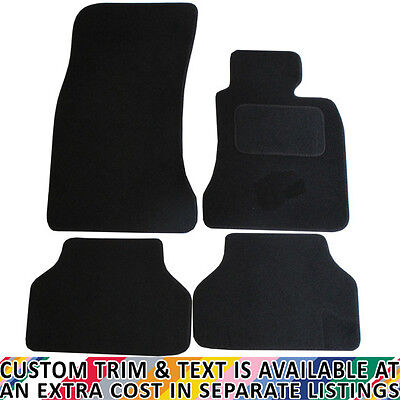 BMW E60 5 Series Auto 2003-2010 Fully Tailored 4 Piece Car Mat Set with Fixings