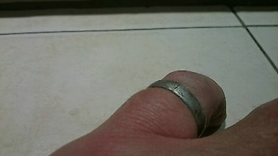 Viking Lovely wearable Silver Ring, rare Item From York area 2.32g