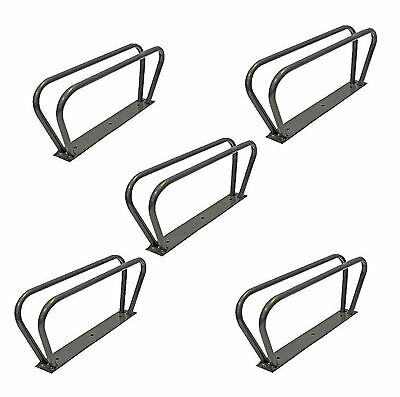 Bicycle Bike Cycle Storage Stand Bracket Upright Wall Mounted Mountable Rack