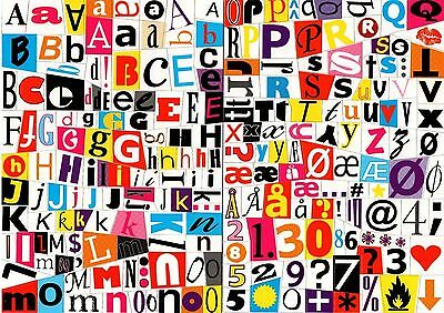 Fridge Magnets Alphabet Numbers & Symbols Magnetic Letters Kids Learning Toys