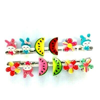 Fancy Clips Wholesale Cartoon Mixed Colour Pattern Lots Baby Pacifier Girls 12P