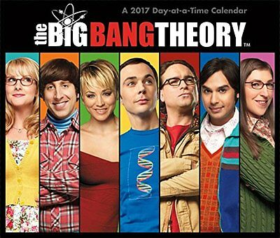 The Big Bang Theory - 2017 Boxed Calendar 6 x 5in