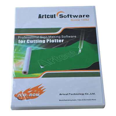 Professional Sign Making Cutting Plotting Software Artcut 2009 English Version