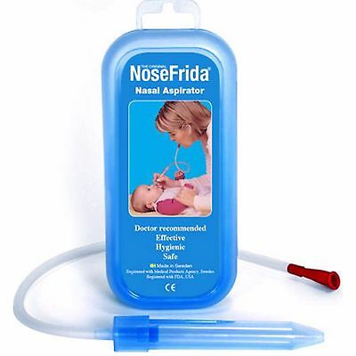 Nosefrida Nasal Aspirator Safely Relieves Congestion,Improves Sleeping,Breathing