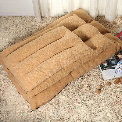 Large Dog Bed Pet Mat Soft Warm Cushion Kennel Cat Nesting Bed