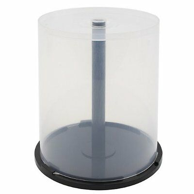 Empty CD, DVD, Blu-ray, Spindle Storage Cake Boxes Hold 100 discs