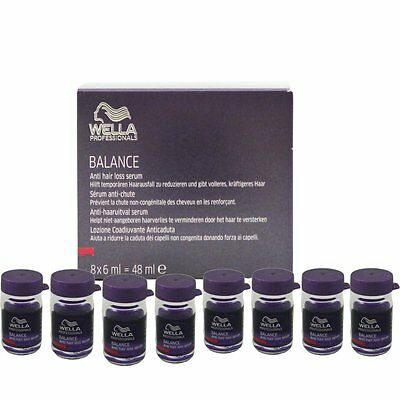 Wella Balance Anti Hairloss Serum 8 x 6 ml