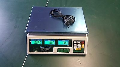 Digital Electronic Price Computing Weighing Fruit Vegetable Meat Scale 40 Kg 2g