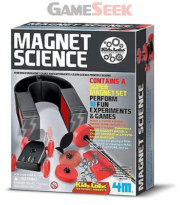 4M Kidz Labs Magnet Science - Toys Brand New Free Delivery