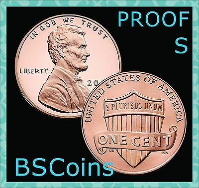 2017 S Lincoln Shield PROOF Cent Gem Deep Cameo - In Stock - Ship TODAY!!