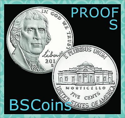 2017 S Jefferson PROOF Nickel Gem Deep Cameo - In Stock - Ship TODAY!!