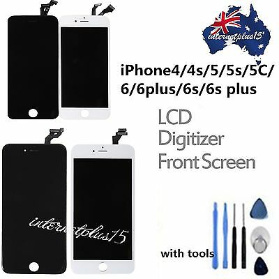 Assembly LCD Digitizer Screen Replacement +Tools for iPhone 4S 5 5C 5S 6 6s Plus