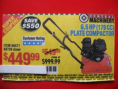Harbor Freight Save 550 Coupon For 6 50