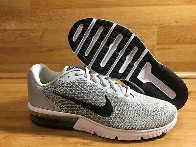 NIKE AIR MAX Sequent 2 - Mens   Pure Platinum - Black - Cool Grey ... d08b91661