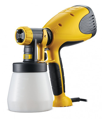 Paint Sprayer System Wagner W-550 HVLP Fine Hand Held DIY Patterns Portable NEW
